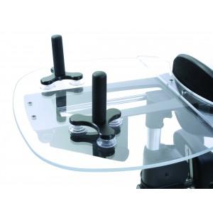 Рукоятки на присосках на прозрачный столик Shadow Tray
