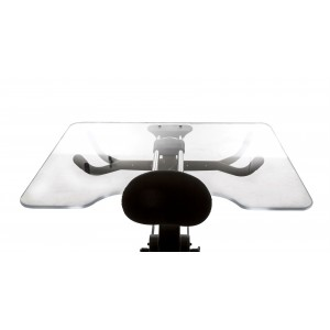 Большой прозрачный столик
