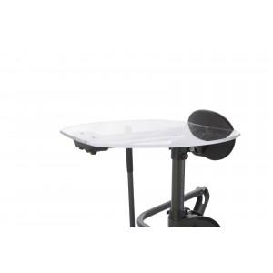 Прозрачный столик Shadow Tray узкий (для StrapStand)