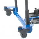 Передние вращающиеся колеса для откидывающейся передней части тренажера