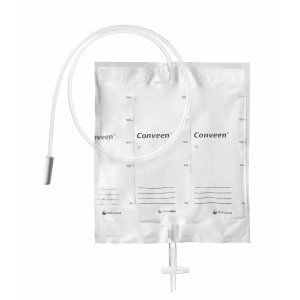 Conveen Мешок прикроватный для сбора мочи, объем 2000мл, трубка 100см