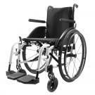 Кресло-коляска инвалидная с ручным приводом DM-915, белая