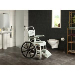 Кресло коляска с ручным приводом Clean 24 для душа и туалета