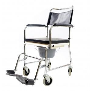Кресло-коляска для душа и туалета DM