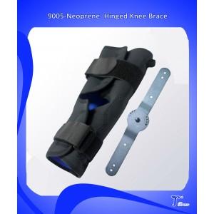 Неопреновый шарнирный бандаж на колено