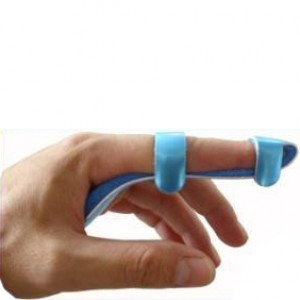 Ортез на палец (бейсбольная шина)