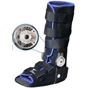 Высокий ортопедический ботинок с регулируемым шарниром