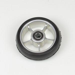 Передние колеса 4 активные мягкие (широкие)