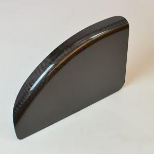Щиток для коляски карбоновый, размер 31x20см.