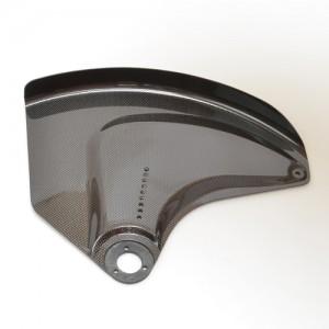 Полностью карбоновая задняя регулировочная пластина с интегрированными щитками