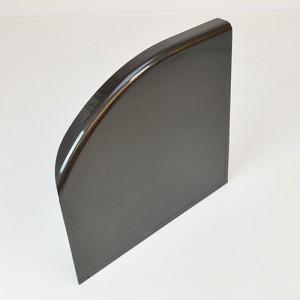Щиток для коляски карбоновый, размеры 35,5x30/37x35см.