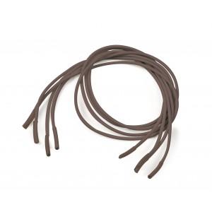 Шнурки эластичные коричневые