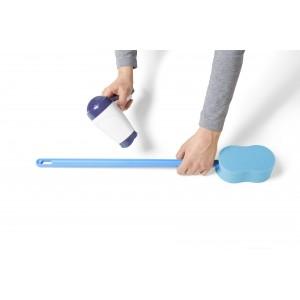 Губка для мытья тела с удлиненной рукояткой