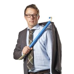 Палка для одевания с рукояткой из пеноматериала