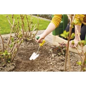 Садовая лопатка эргономичная с короткой рукояткой
