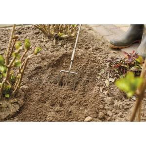 Садовая вилка эргономичная  с длинной рукояткой