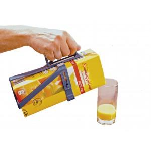 Захват для удержания картонных пакетов